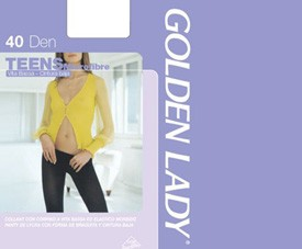 Collant 39x Teens 40 Golden Lady 94%pa6%ea