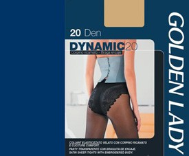 Collant Dinamic 20 Golden Lady