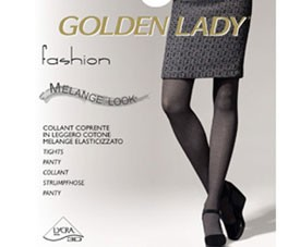 Collant cotton Melange Golden Lady Co61pa29ea10