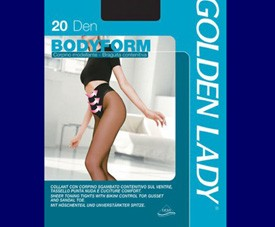 Collant bodyform Golden Lady