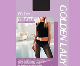 Collant 39q Teens 20 Golden Lady Pa86ea14