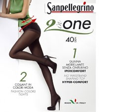 Collant 2 in One 40d  Sanpellegrino