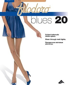 Collant blues 20  Filodoro Pa86ea14