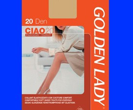 Collant Ciao 20 Golden Lady 88%pa12%ea