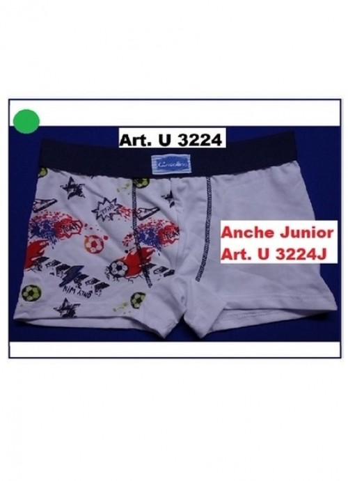 Boxer Junior Gasolino  U3224fj
